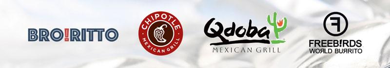 Broritto vs Chipotle, Qdobe, and Freebirds