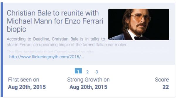 Christian Bale announced to play Enzo Ferrari in Michael Mann film