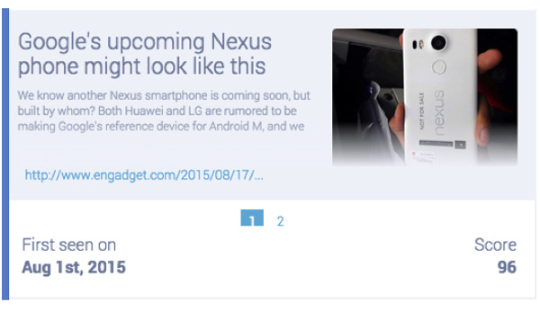 Leaked photo of the LG Nexus 2015