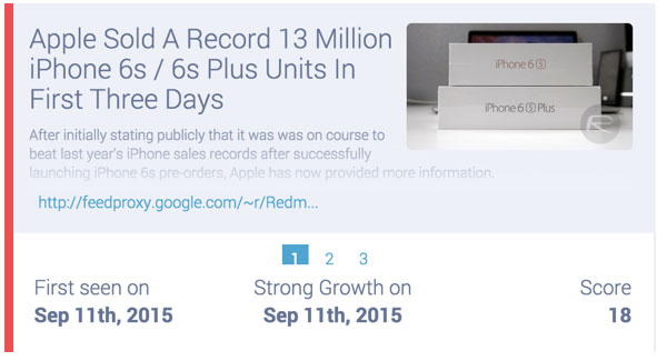 iphone sales quote september 2015