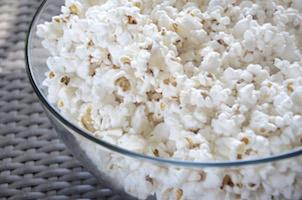 bowl of popcorn box office