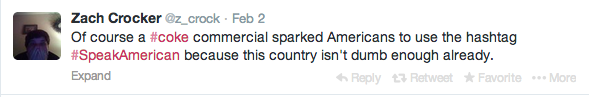 Of course Americans are being dumb and racist
