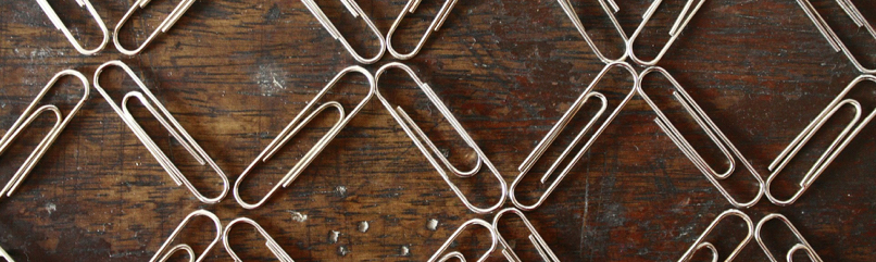 paper clips pattern