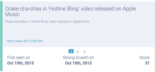 drake releases hotline bling on apple music