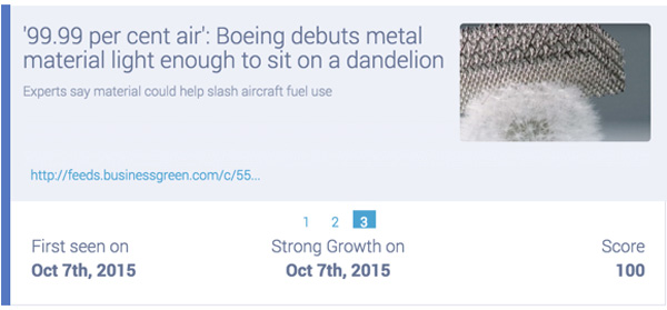 boeing debuts super light metal