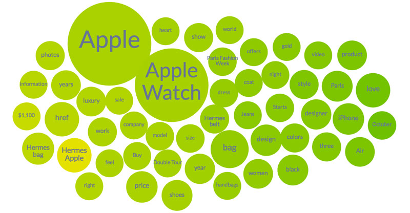 apple watch in hermes topic cloud