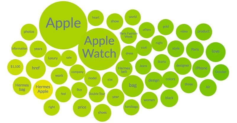 apple watch in hermes topic cloud
