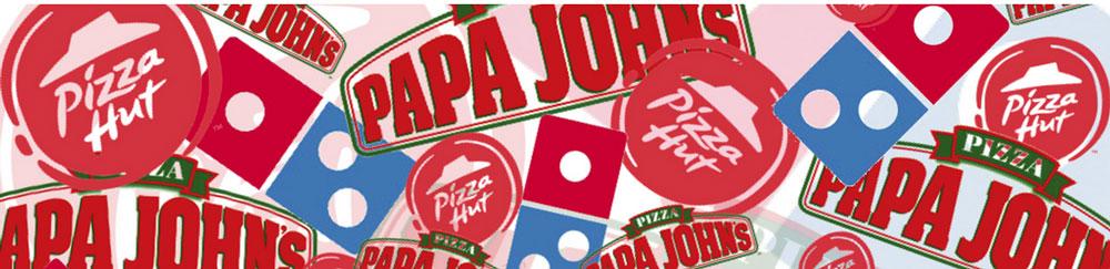 Pizza Hut Papa Johns Dominos
