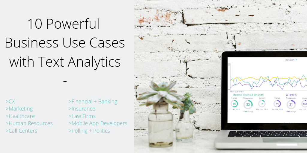 10 Powerful Business Use Case with Text Analytics