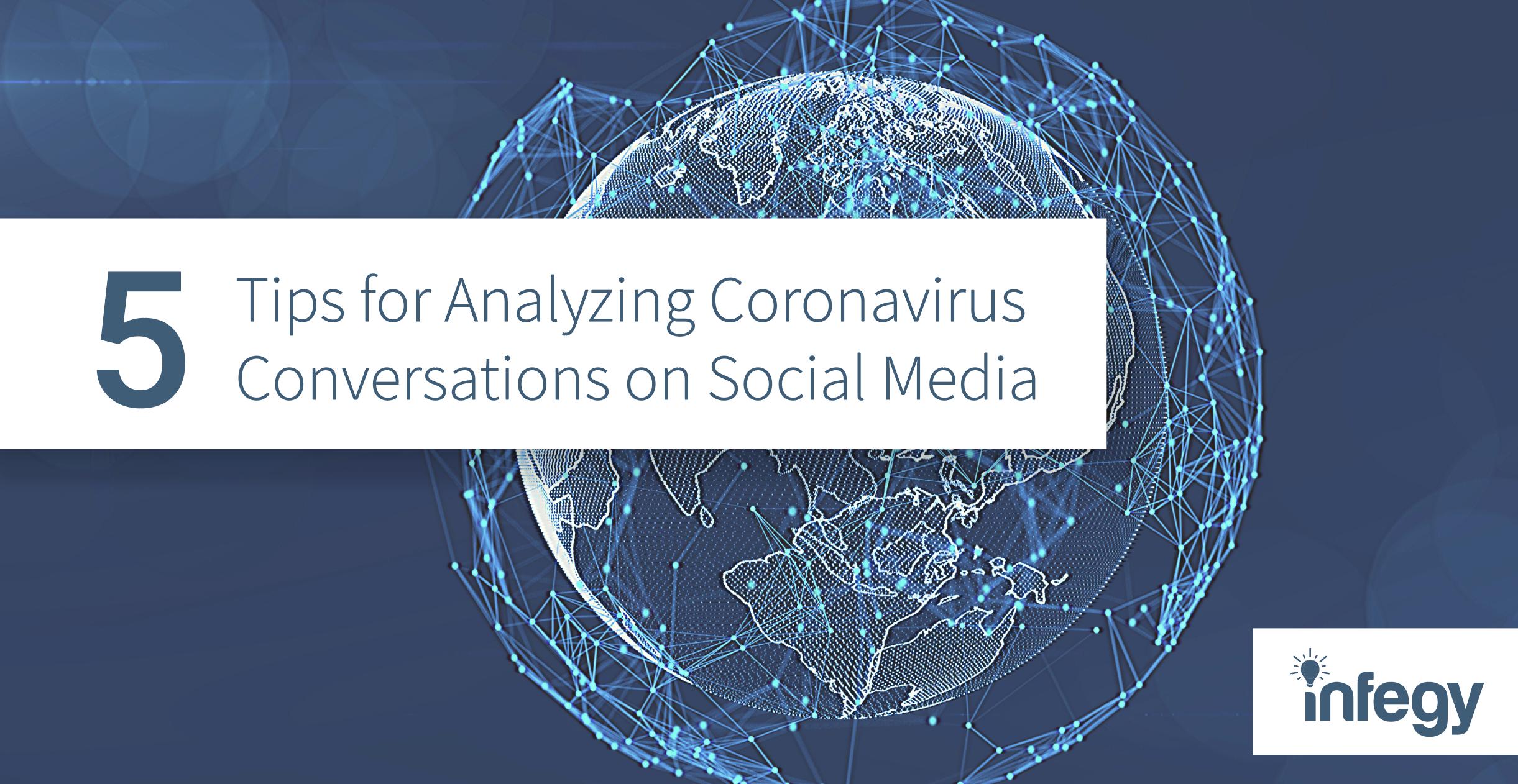 Coronavirus data on social media