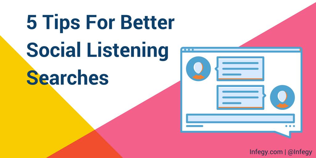 5 Tips for Easy Social Listening TITLE