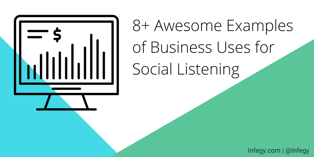 Awesome Examples of Business Uses for Social Listening TITLE copy