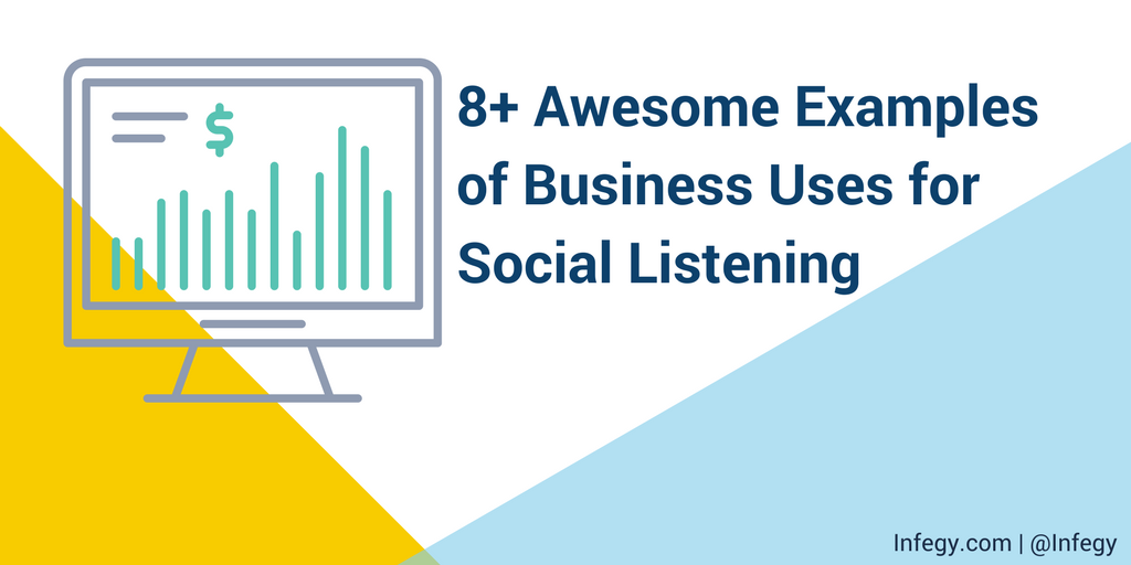 Awesome Examples of Business Uses for Social Listening TITLE