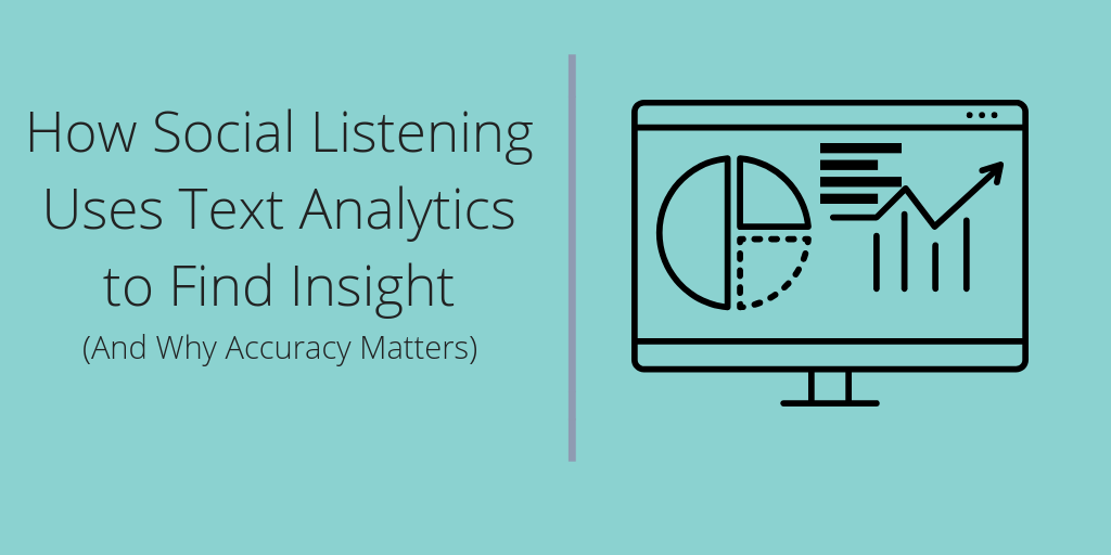 How Social Listening Works Using Text Analytics to Find Insight TITLE