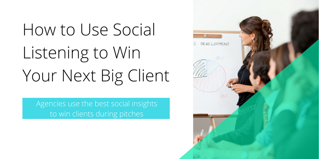 How to Use Social Listening for client pitches TITLE