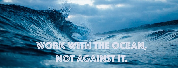 Working with the ocean