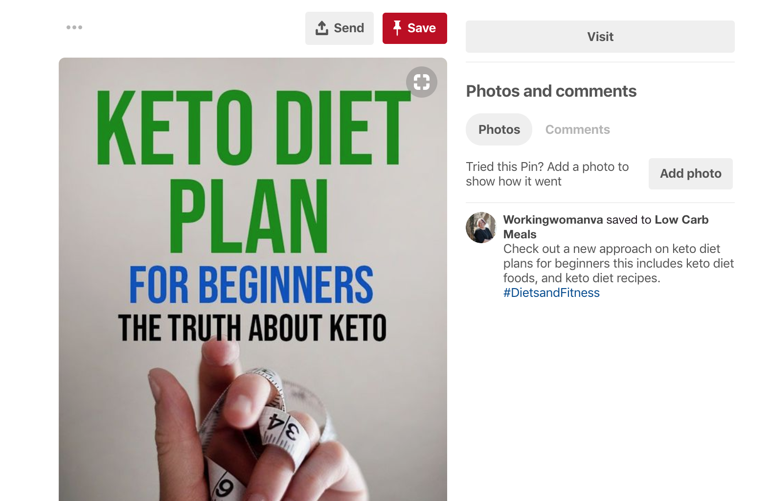 Pinterest Post from Health Food Atlas Search example