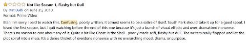 Westworld Amazon Review