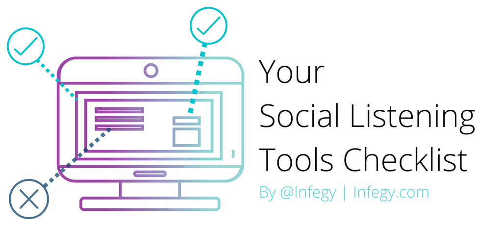 Your Social Listening Checklist TITLE #1