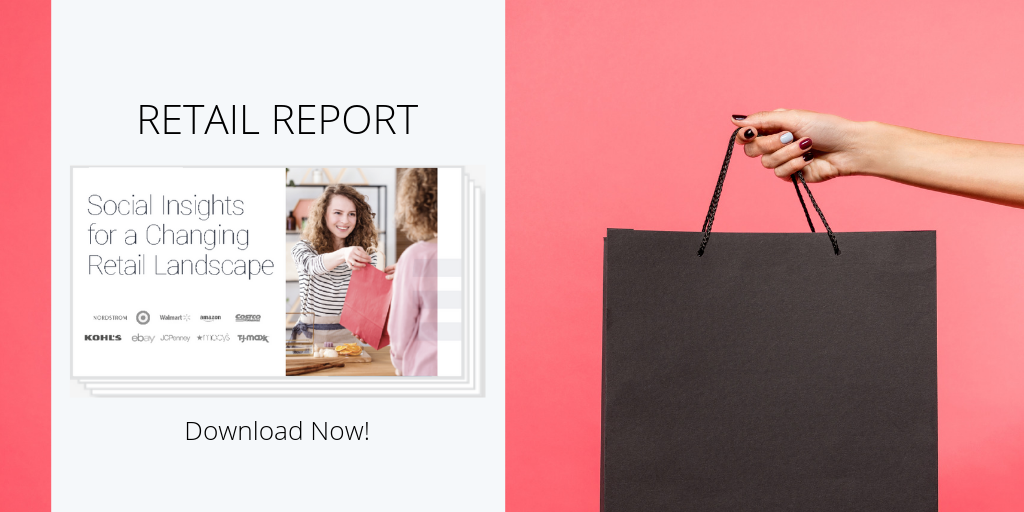 social listening report for the retail industry